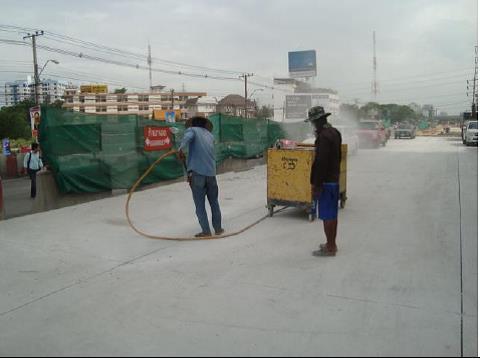 Mastic bitum giải pháp trám khe co giãn đường bê tông xi măng