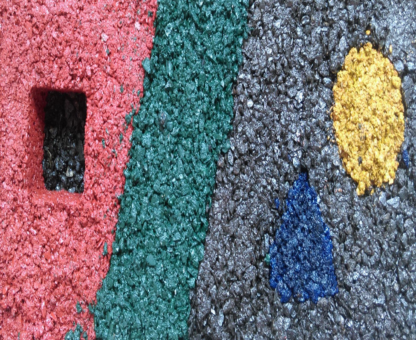 Bê tông nhựa màu - lối đi mới cho các con đường chuyên biệt